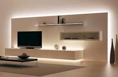 Светодиоды, встроенные в мебель