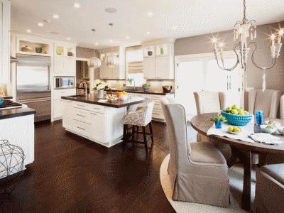 Удобный и практичный дизайн кухни
