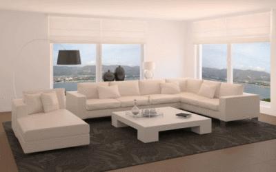Качественные угловые диваны в дизайне интерьера