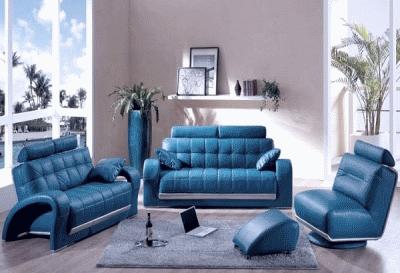 Кожаная мебель в современном интерьере