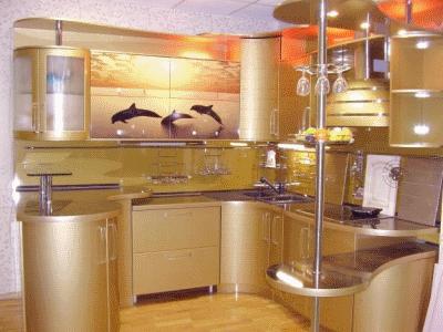 Мебель для кухни. Варианты планировок