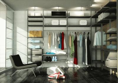 Современная мебель для хранения одежды