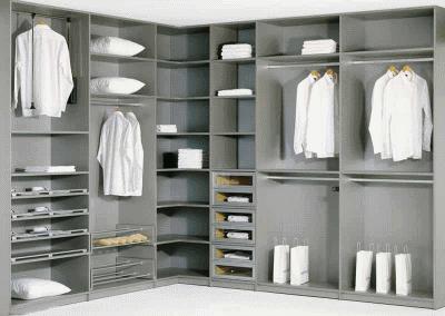 Современные мебельные комплекты для гардеробных