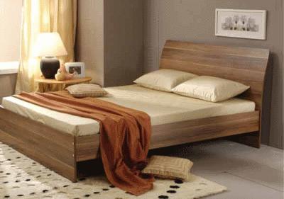 Место спальной кровати в дизайне интерьера спальни