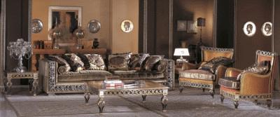 Мягкая мебель отражает ту эпоху в какой ее изобрели