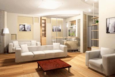 Создаем уютный интерьер в зале