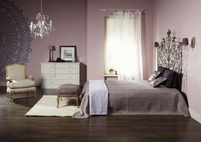 Чувственная спальня в стиле неоромантика