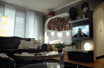 Уютное обустройство однокомнатной квартиры