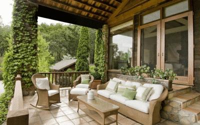 Выбор мебели для загородного дома