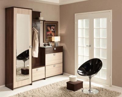 Мебель, созданная самой прихожей