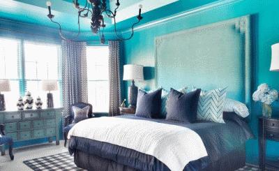 Создаем контрастный дизайн интерьера в спальни
