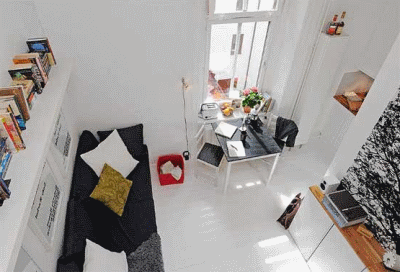 Уютный дизайн малогабаритной городской квартиры