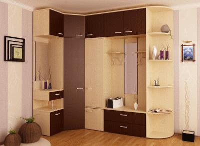 Рекомендации относительно выбора мебели для прихожей
