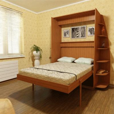 Место современной откидной кровати в дизайне интерьера