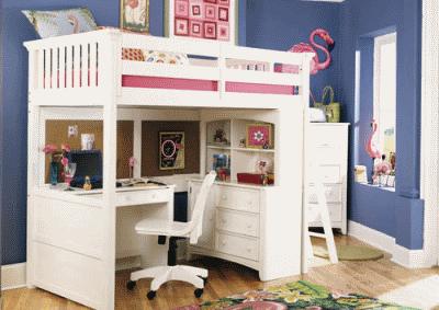 Подбираем кровать-чердак в детскую комнатку
