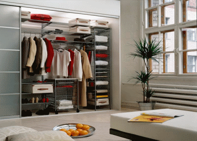 Немного об уникальных гардеробных комнатах