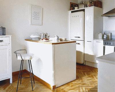 Особенности барной стойки в дизайне интерьера гостиной комнаты