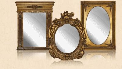 Особенности рам для зеркал