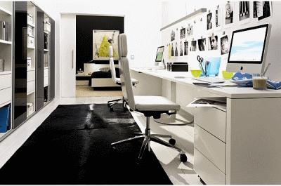 Элементы мебели для удобного хранения бумаг в офисе
