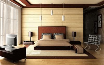 Грамотно планируем спальню в коричневом цвете