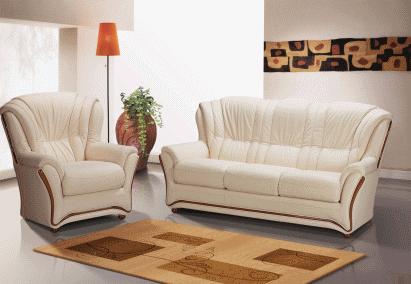 Современные текстильные и кожаные диваны