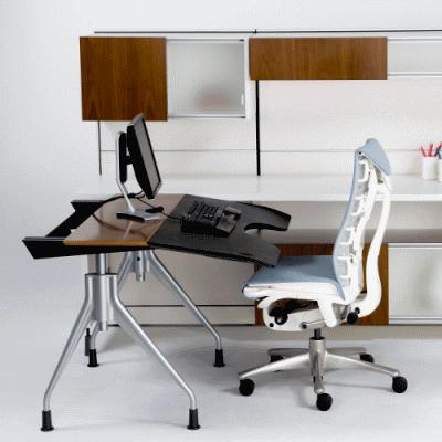 Правильно выбираем эргономичный офисный стол