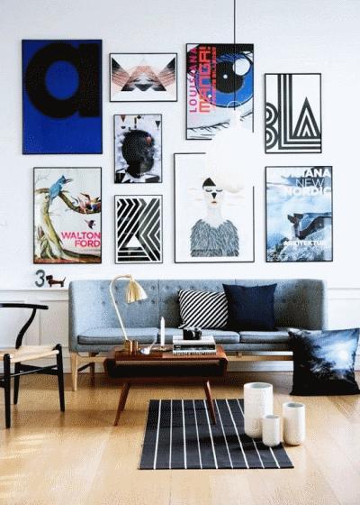 Использование декоративных рам в дизайне интерьера