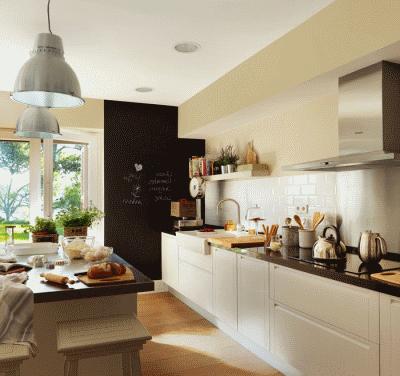 Создаем дополнительный уют для кухни