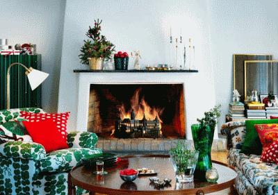 Несколько идей комфортного зимнего декора