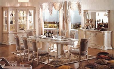 Необычная история столовых комнат