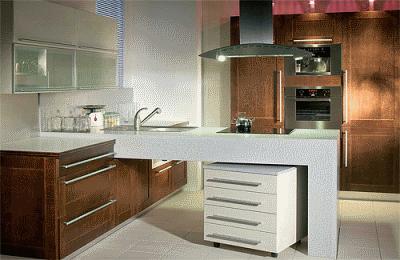 О встроенной кухонной мебели