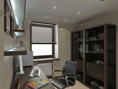 Выбор необходимой мебели для обустройства домашнего кабинета