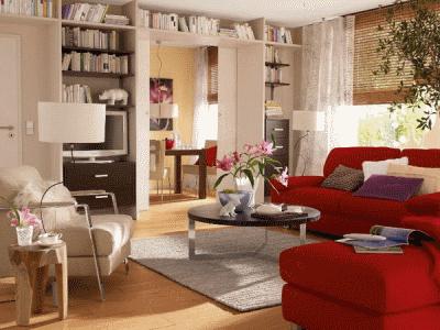 Зонирование и меблировка уютной гостиной