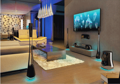 Неотъемлемые элементы в дизайне домашнего кинотеатра