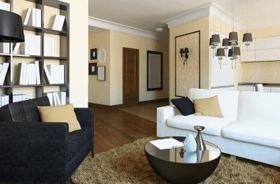 Несколько советов по оформлению гостиной-студии