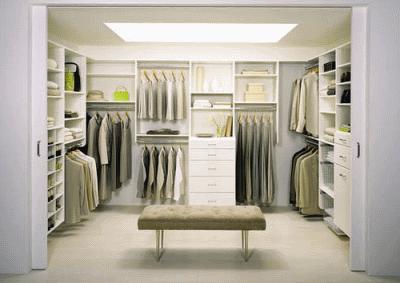Про современную гардеробную комнату