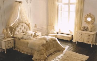 Спальня современной девушки