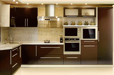Угловые и прямые кухни: основные особенности