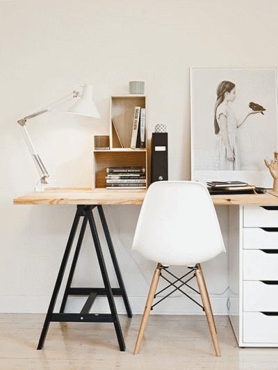Делаем стильный и модный стол для кабинета