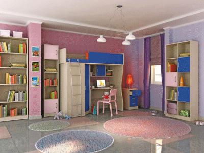 Планируем вместе дизайн детской комнаты