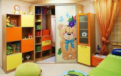 Современные детские шкафы в детскую