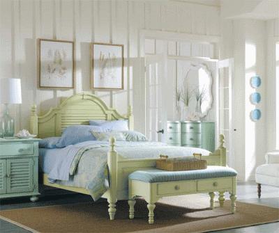 Несколько весенних идей для небольшой спальни