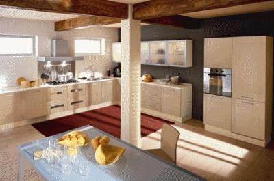 Особенности интерьера кухни в стиле модерн