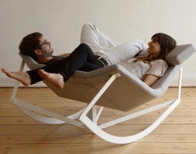 Установка кресла-качалки в интерьере