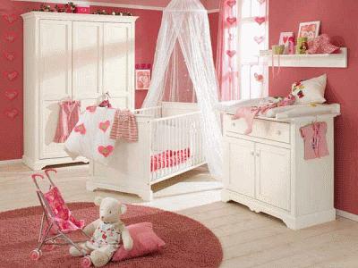 Планируем интерьер детской комнатки для новорожденного