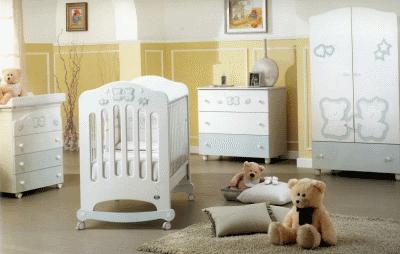 Немного об оформлении детской комнаты