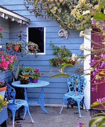 Парочка идей для декорирования сада