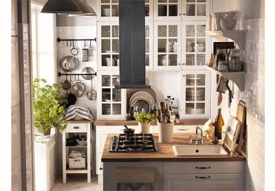 Как и где хранить посуду на кухне?