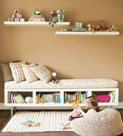 Планируем уголочек для чтения в детской