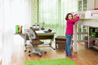 Выбираем необходимую мебель для первоклассников в детскую